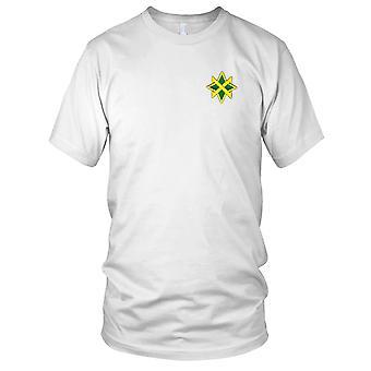 US Army - 95th militärpolisen bataljonen broderad Patch - Mens T Shirt