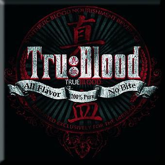 True Blood Kühlschrank Magnet alle Geschmack No Bite neue offizielle 76 x 76 mm