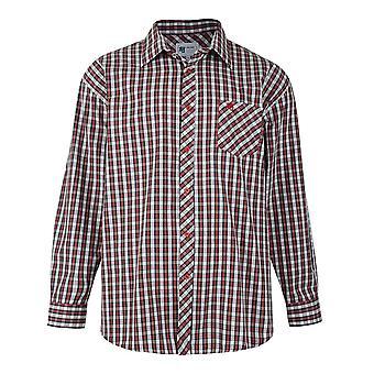 KAM Check Long Sleeve Shirt