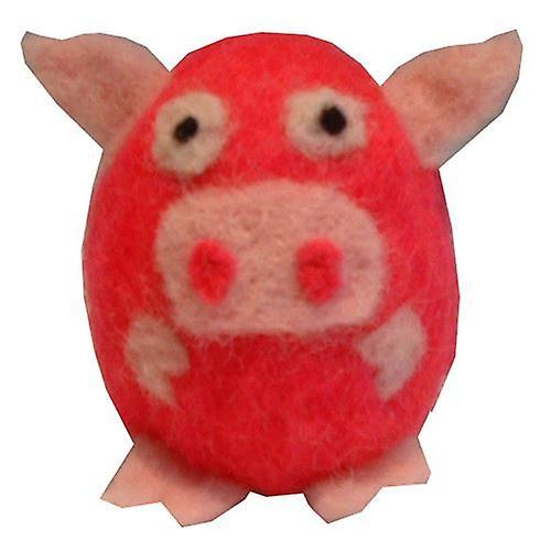 Felta Pets Pig Felting Kit 8 yrs+ by Krasnaya