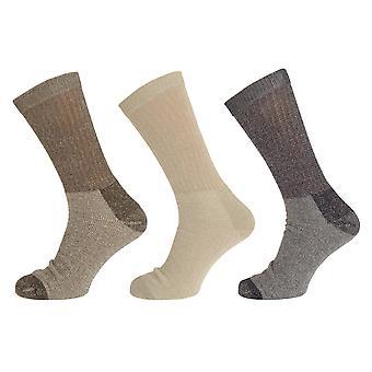 Miesten Ultra Tuff työtä sukat (3 paria)