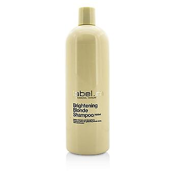 Label.m Brightening Blonde Shampoo (gently Cleanses And Strengthens Brightens Colour For Glistening Blonde Tones) - 1000ml/33.8oz
