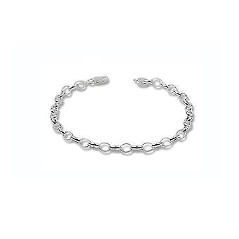 Rannekoru charmi hopea 925-16,5 cm