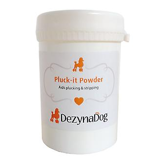 DezynaDog Pluck-It Powder 90g - Added Grip For Plucking/Stripping Pet Hair