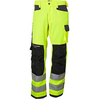 Helly Hansen Mens Alna duurzaam versterkt Hi-Vis werkkleding broek