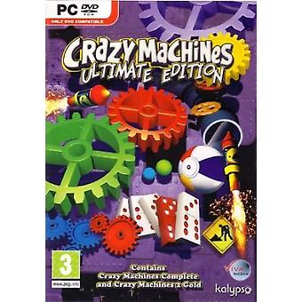 Crazy Machines (Ultimate Edition) (PC DVD) - Factory Sealed