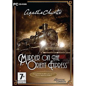 Agatha Christie mord på Orient Express (PC CD)-ny