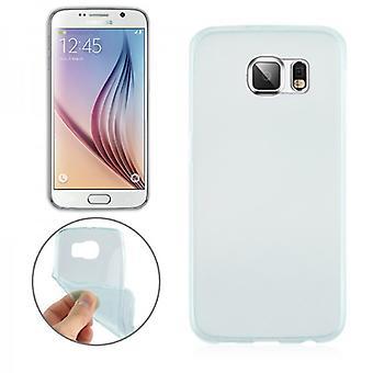 Silikoncase Green 0,3 milímetros ultra delgado case para Samsung Galaxy S6 G920 G920F