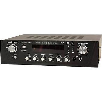 LTC Audio ATM7000USB-BT Karaoke amplifier Incl. karaoke function