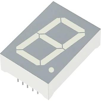 KINGBRIGHT 7-segment display verde 25 mm 4,4 V, 2,2 V No. de cifre: 1 SA10-21GWA