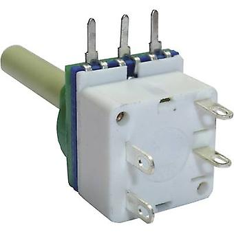 Potenciómetro serviço 7513 única vez potenciômetro + interruptor Mono 2.2 kΩ 1 computador (es)
