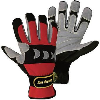FerdyF. 1977 Red, Black Artificial-Leather and Spandex Rope Rescue L (9) EN 388