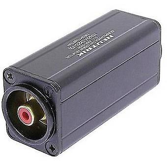 Neutrik NA2F-D2B-TX XLR adapter XLR-uttag - RCA-uttag (phono) 1 st(er)