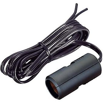 ProCar Extension cables Flat cable with cigarette lighter coupling