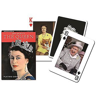 Hm Queen Elizabeth Ii Set Of 52 (+ Jokers) Playing Cards