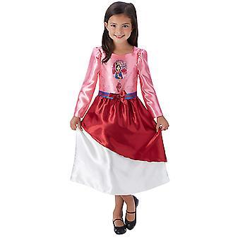 Mulan eventyr eventyr prinsessen kjole for barn
