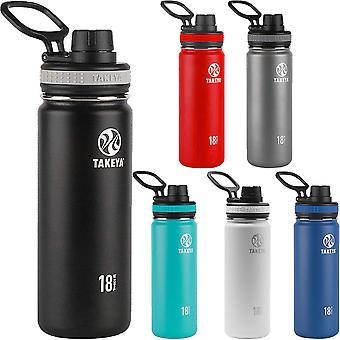 Takeya Originals 18 oz. Insulated Stainless Steel Water Bottle