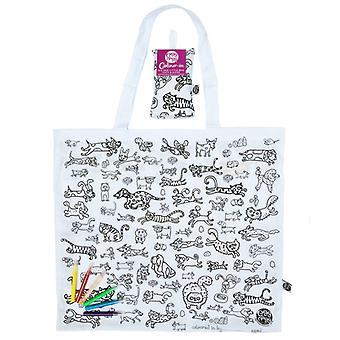 Большая сумка сумка мало кошек и собак