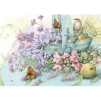 باستن لايزل شميت: لغز بانوراما سلة الزهور (1000 قطعة)