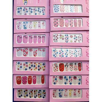 Monalisa vernis à ongles Appliques plein Art Designs Autocollant ongle (10 oeillets)