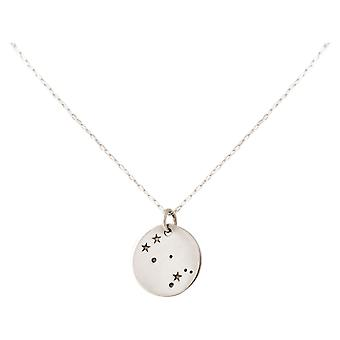 Constellation collier horoscope Gemini jumeaux 925 argent, plaqué or, rose