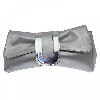 Lisa Kay Oprah Clutch Metallic Detailing Handbag