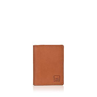 Lakeland Leather Credit Card Holder in Tan