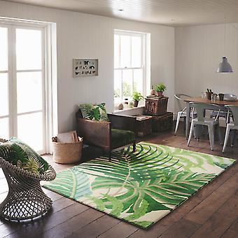 Sanderson Manila mattor 46407 i grönt
