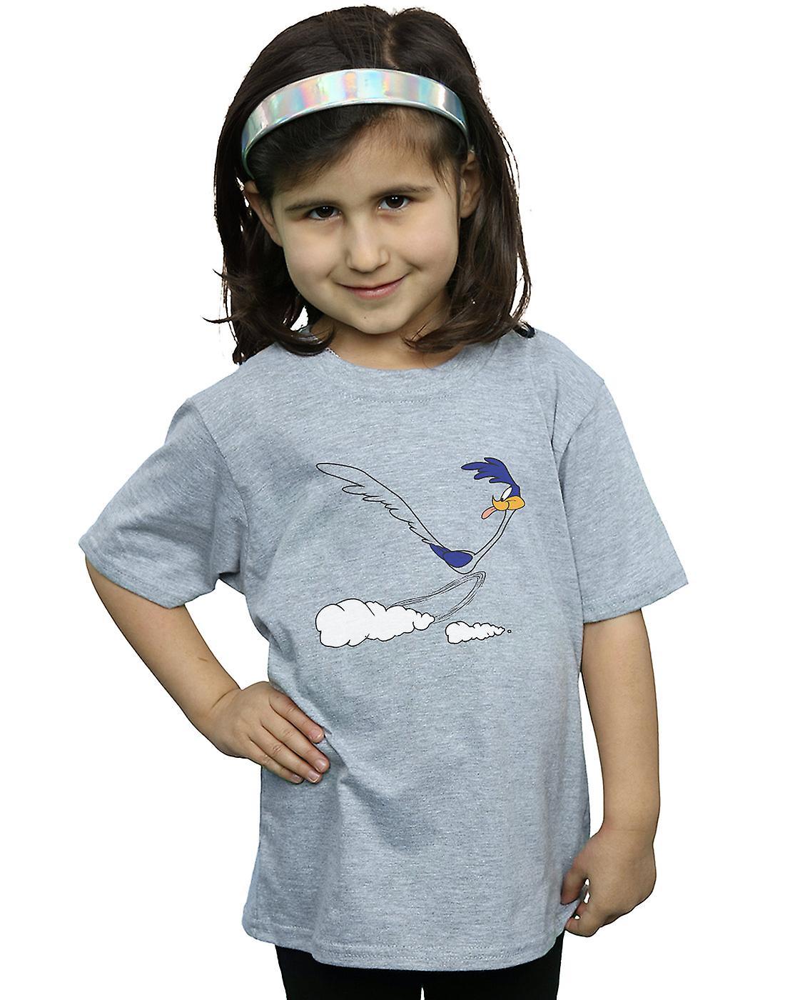Looney Tunes Girls Road Runner Running T-Shirt