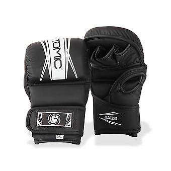 Bytomic eixo V2 MMA Sparring luvas preto/branco