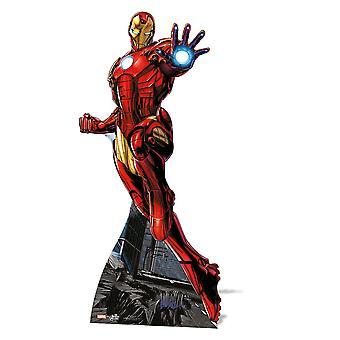 Iron Man Lifesize Cardboard Cutout / Standee / Standup - Marvel The Avengers Super Hero