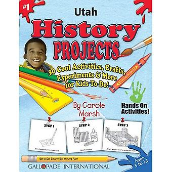 Utah History Projects - 30 Cool Activities, Crafts, Experiments & More for Kids (Utah Experience)