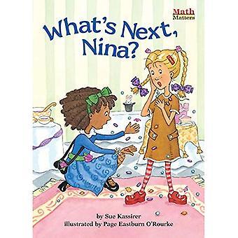 What's Next, Nina? (Math Matters (Kane Press Paperback))