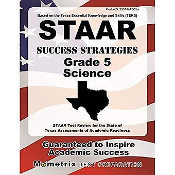 STAAR framgång strategier grad 5 Science Study Guide: STAAR Test recension för delstaten Texas bedömningar...
