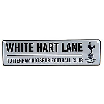 Sinal de oficial de janela de rua Tottenham Hotspur FC