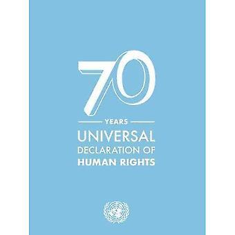 Déclaration universelle des droits de l'homme de 70 ans