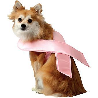 Vaaleanpunainen nauha hellitellä puku