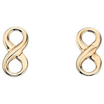Des éléments infini or boucles d'oreilles - or jaune
