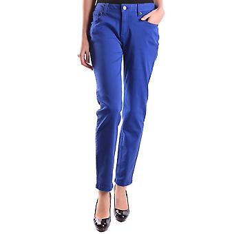 Burberry Ezbc001006 Naiset's Blue Cotton Jeans