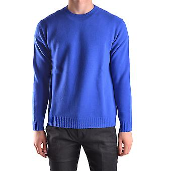 Altea Ezbc048053 Men's Blue Wool Sweater