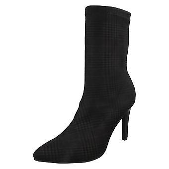 Dames plek op hoge Stiletto hak Ankle Boots F50924