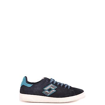 Lotto Ezbc139013 Men's Blue Suede Sneakers