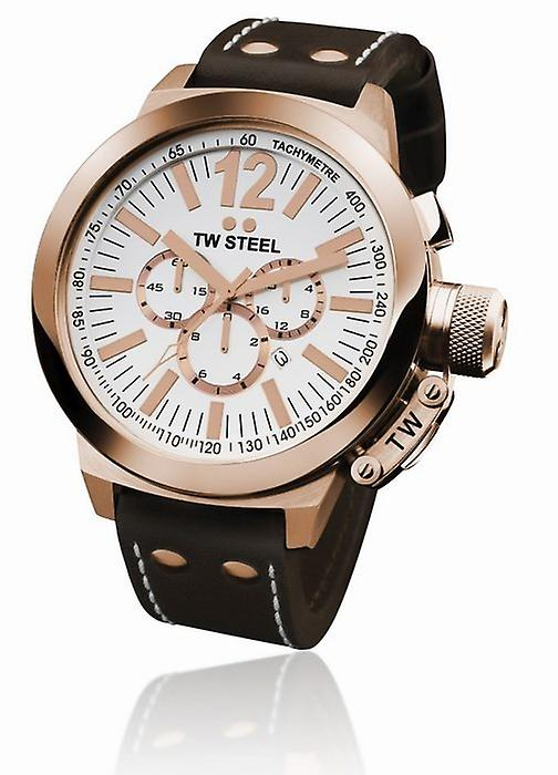 TW Steel Chronograph Watch 45 mm Ce1019 Ceo Demo