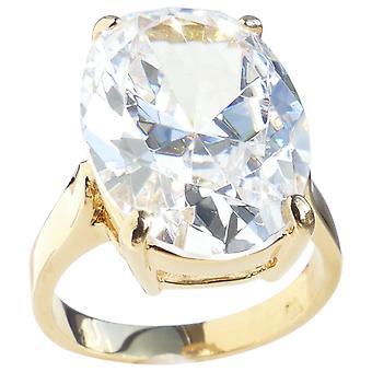 О, да! Ювелирные изделия овальные имитация бриллиантовое кольцо