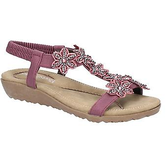 Fleet & Foster Womens/damer Magnolia elastisk T-Bar sandal