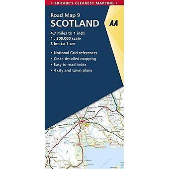 Scotland by AA Publishing - 9780749578978 Book