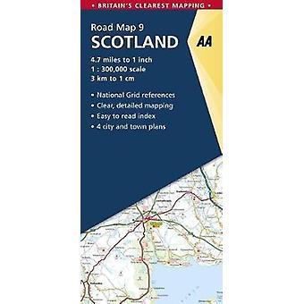 Skottland av AA Publishing-9780749578978 bok