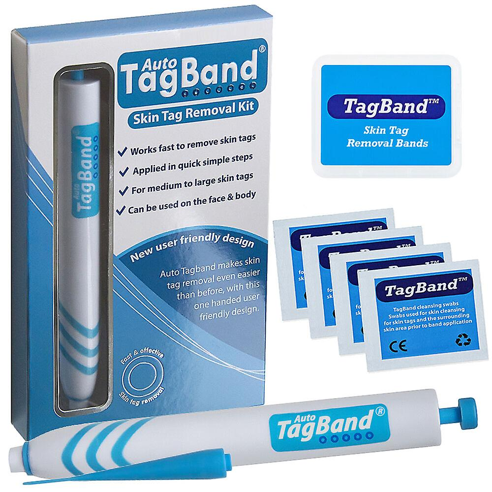 Auto TagBand Home Skin Tag Remover dispositif Kit pour accélérer le décapage