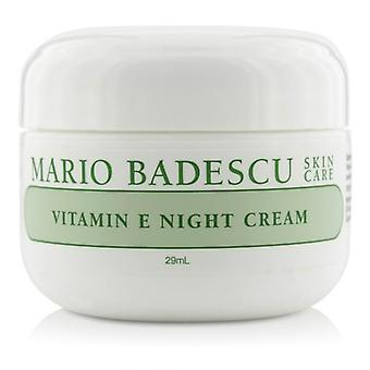 Mario Badescu Vitamin E Night Cream - For Dry/ Sensitive Skin Types - 29ml/1oz