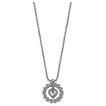 ESPRIT Damenkette Pellet Herz Silber (ESNL92073A)